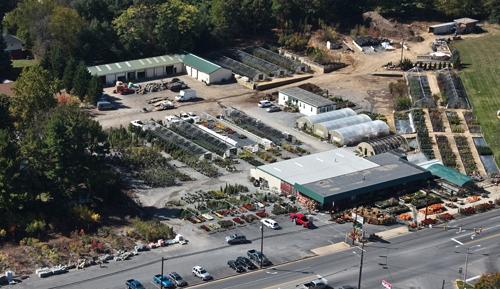 Elegant ... Aerial View Of Greenhouses   Waynesboro Landscape U0026 Garden Center ...