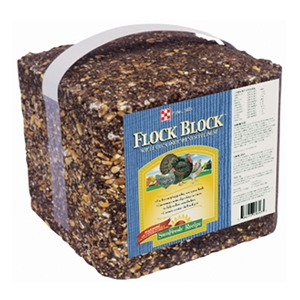 25# Purina Flock Block For $11.49