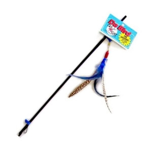 Choosing the right toys for your cat for playtime perth for Cat toy fishing pole