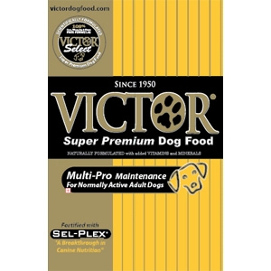 Victor Dog Food Select Multi Pro Maintenance