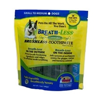 Ark Naturals Breath-less Chewable Brushless Toothpaste Small/Medium 12Ct