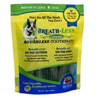 Ark Naturals Breath-less Chewable Brushless Toothpaste Medium/Large 18 c