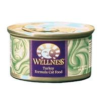 Wellness Canned Cat Turkey 24/3 oz Case