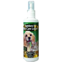 NaturVet Septiderm-V Lotion Spray 8oz