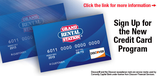 Grand Rental Credit Card