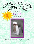 Chair Cover Specials