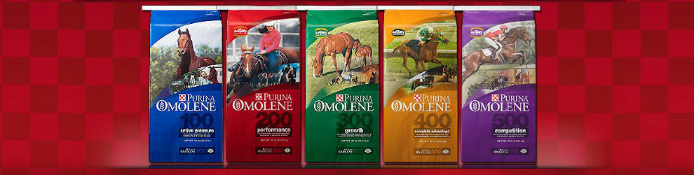 Purina Omolene feeds