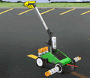parking lot striping machine for rent