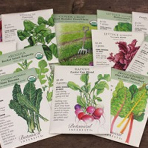 Fall Veggies & Herb Seeds are in!