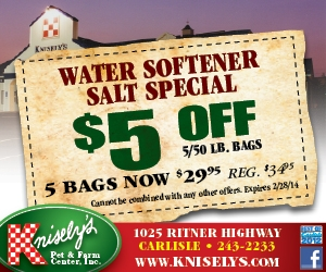 Water Softener Salt Special