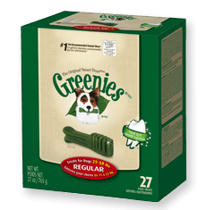 27 Ounce Greenies now $24.99