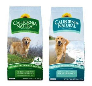 Select 30 lb Bags of California Natural Now $47.99
