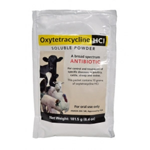 Tetracycline Hydrochloride Soluble Powder Dosage For Dogs