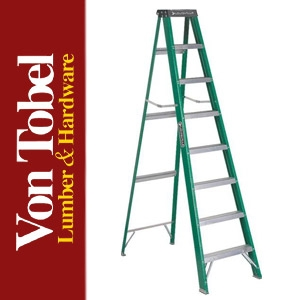 Save $20 on Louisville Green Fiberglass Stepladder
