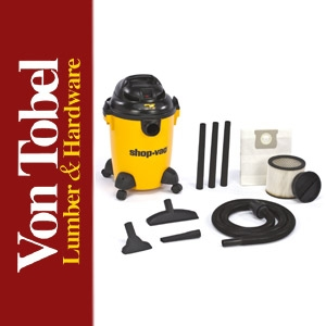 Save $7 on Shop Vac 6 Gal. 3 HP Wet/Dry Vac