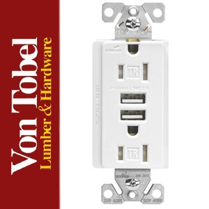 Save $2 on Dual USB Charger Port Receptacle