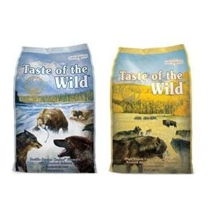 Taste of the Wild® Dog Food 28lb. - 30lb. Bag Sale