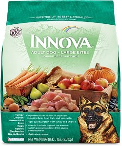 Innova Adult Dog Food Large Bites 30lbs Now $29.99