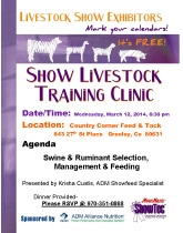Show Training Clinic