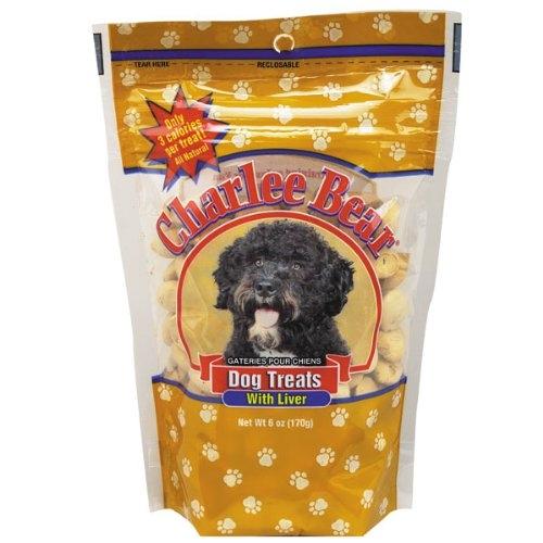 Charlee Bear Liver Dog Treat 6Oz