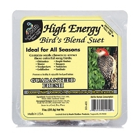 Heath High Energy Bird's Blend Suet 11oz $.99/ea.