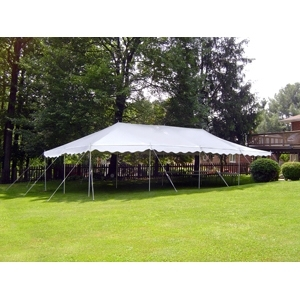 Anchor 20' x 30' Traditional Party Canopy - Customer Installed