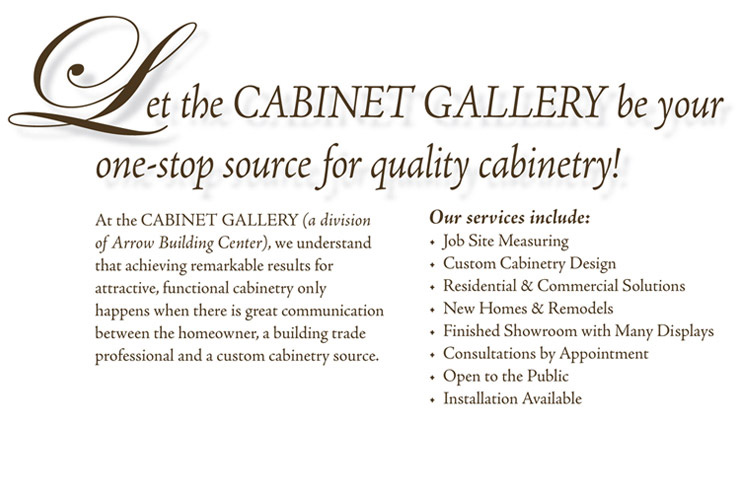 Cabinent Gallery