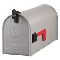 Galvanized Steel Mailbox Now $9.99