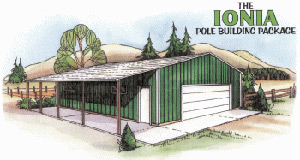 The Ionia Pole Building
