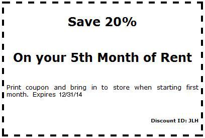 Save 20 Percent Off Coupon