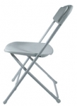 PRE White Plastic Dining Chair Image
