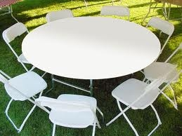 Kwik-covers, fitted table covers