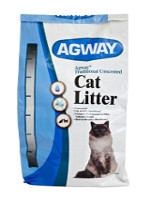 Agway Traditional Unscented Cat Litter 40lb $6.99