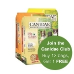 Select Canidae Dog Food 30 lb. now $39.99