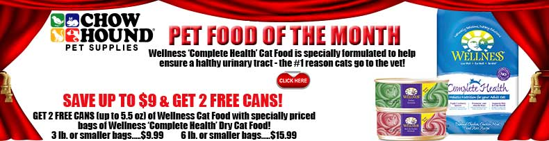 Pet Food of the Month