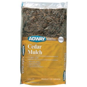 Agway Cedar Mulch 3 Cu. Ft. Bag Just $3.99