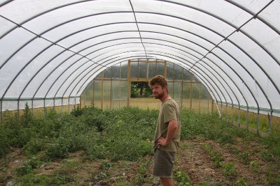 9/5: Hoop Houses - Large and Small - 11am-Noon & 1-2pm