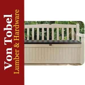 Save $20 on Eden Garden Bench with Deck Box