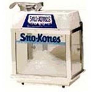 Rent a Snow Kone Machine, Get one Syrup Free