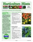 Horticulture Hints