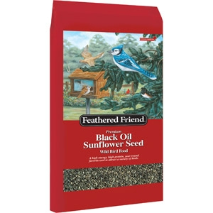 Feathered Friend Black Oil Sunflower 40lb $18.99