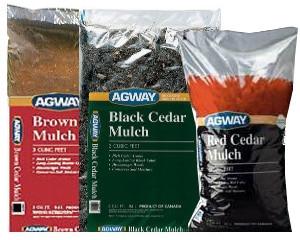 Agway Colored Mulch 3 Cu. Ft. Bags $4.49 each