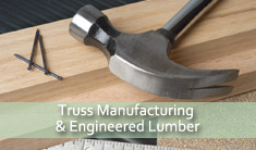 truss and lumber