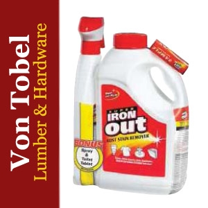 Save $8 on Iron Out Rust Stain Remover Value Pack