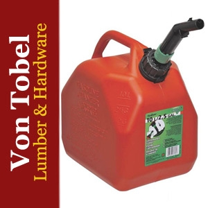 Save $5 on 2.5 gal. Red Polyethylene Gas Can
