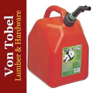 Save $5 on 5 gal. Red Polyethylene Gas Can