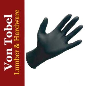 Save $5 on 6mil Black Nitrile Gloves 100 count