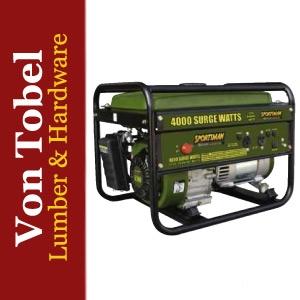 Save $50 on 4000 watt Portable Sportsman Generator