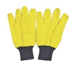 10pk Yellow Chore Gloves for $5.49