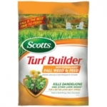 Scotts Turf Builder Fall Weed & Feed 5M now $22.99